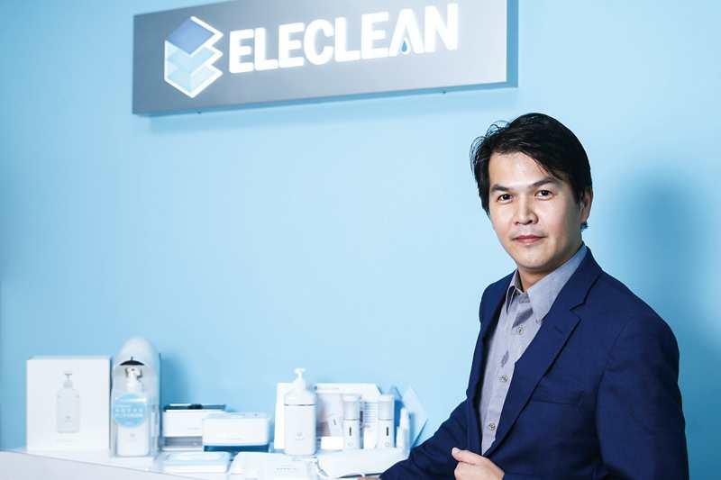 創辦人陳建宏矢志將創淨打造成為「消毒界LV」的國際大品牌,為社會提供安全又有效的消毒防疫服務。