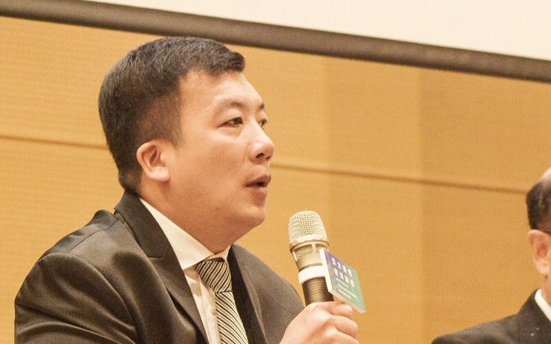 臺灣永續供應協會秘書長顏俊明。