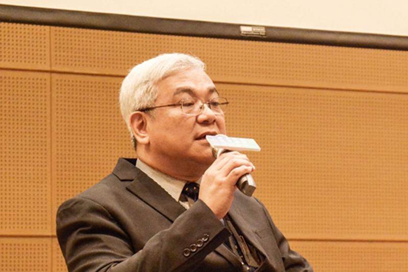 臺灣電路板協會環安衛委員會召集人黃林成。