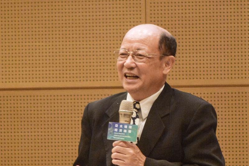 李長榮化學工業營運長李啟志。